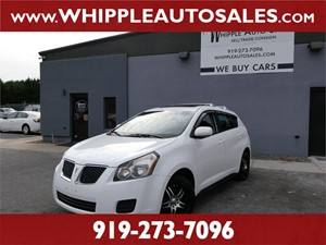 2009 PONTIAC VIBE AWD for sale by dealer