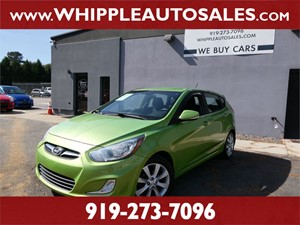 2013 HYUNDAI  ACCENT SE (1-OWNER) for sale by dealer