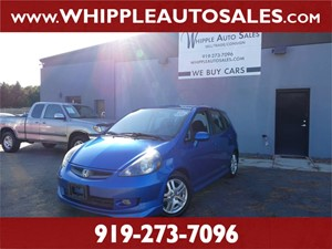 2008 HONDA FIT SPORT (1-OWNER) for sale by dealer