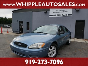 2005 FORD TAURUS SE (1-OWNER) Raleigh NC