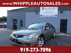 2008 NISSAN MAXIMA SE for sale by dealer