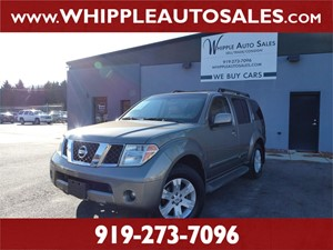 2005 NISSAN  PATHFINDER LE (1-OWNER) for sale by dealer