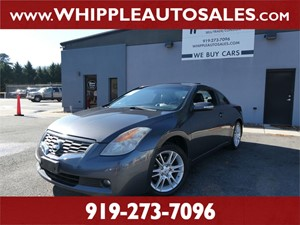 2008 NISSAN  ALTIMA SE COUPE Raleigh NC