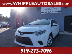 2016 TOYOTA COROLLA L (1-OWNER) for sale by dealer