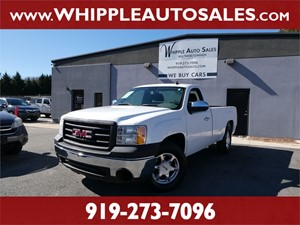 2007 GMC SIERRA WORK TRUCK for sale by dealer