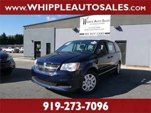 2014 DODGE GRAND CARAVAN SE (1-OWNER) for sale by dealer