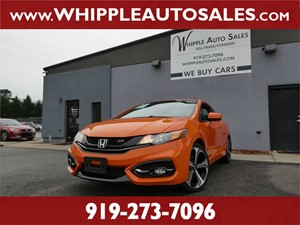2015 HONDA CIVIC Si for sale by dealer