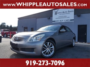 2009 INFINITI G37x (1-OWNER) for sale by dealer