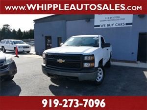 2014 CHEVROLET SILVERADO W/T (1-OWNER) for sale by dealer