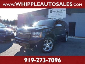 2012 CHEVROLET TAHOE LTZ (1-OWNER) for sale by dealer