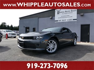 2014 CHEVROLET  CAMARO LT for sale by dealer