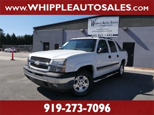 2005 CHEVROLET AVALANCHE LT for sale by dealer