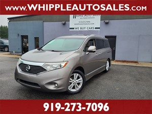2013 NISSAN QUEST LE (1-OWNER) for sale by dealer