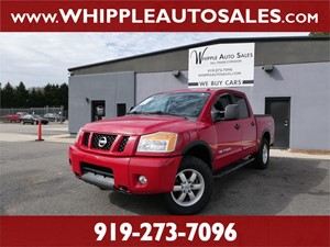 2012 NISSAN  TITAN PRO-4X  for sale by dealer
