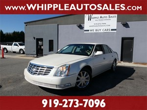 2008 CADILLAC DTS LUXURY for sale by dealer