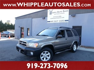 2004 NISSAN  PATHFINDER SE  for sale by dealer