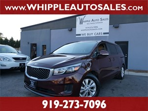 2015 KIA SEDONA LX for sale by dealer