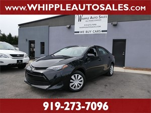 2019 TOYOTA COROLLA LE (1-OWNER) Raleigh NC