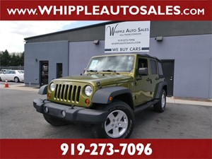 2010 JEEP WRANGLER UNLIMITED SPORT Raleigh NC