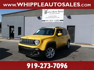2015 JEEP RENEGADE LATITUDE (1-OWNER) for sale by dealer