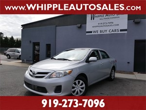 2013 TOYOTA COROLLA L for sale by dealer
