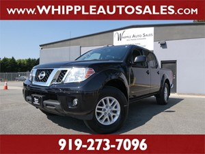 2018 NISSAN FRONTIER SV (1-OWNER) Raleigh NC