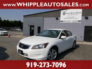 2009 HONDA ACCORD LX-P Raleigh NC