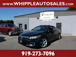 2012 HONDA  ACCORD EX-L COUPE Raleigh NC