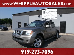 2005 NISSAN FRONTIER LE for sale by dealer