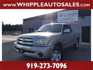 2003 TOYOTA TUNDRA SR5 for sale by dealer