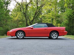 Picture of a 2001 Chevrolet Camaro Convertible