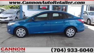 Picture of a 2012 Ford Focus SE Sedan