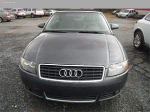 2006 AUDI A4 1.8 CABRIOLET for sale in Biscoe