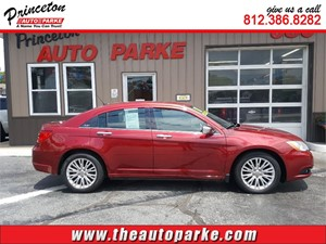 2011 CHRYSLER 200 LIMITED for sale by dealer