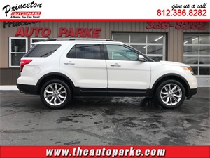 2011 FORD EXPLORER LIMITED for sale by dealer