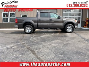 2005 FORD F150 SUPERCREW for sale by dealer