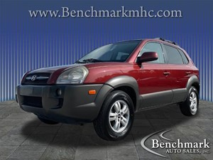 Picture of a 2008 Hyundai Tucson SE