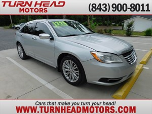 2012 CHRYSLER 200 LIMITED for sale by dealer
