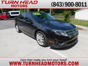 Picture of a 2010 FORD FUSION SE