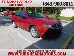 Picture of a 2010 FORD FUSION S