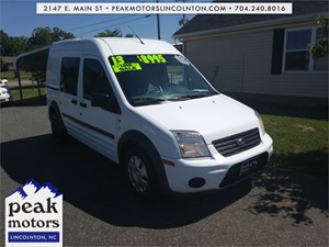 2013 Ford Transit Connect XLT  Lincolnton NC