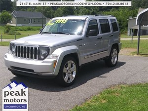 2012 Jeep Liberty Limited Jet  Lincolnton NC