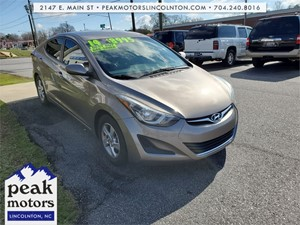 2014 Hyundai Elantra Limited for sale by dealer