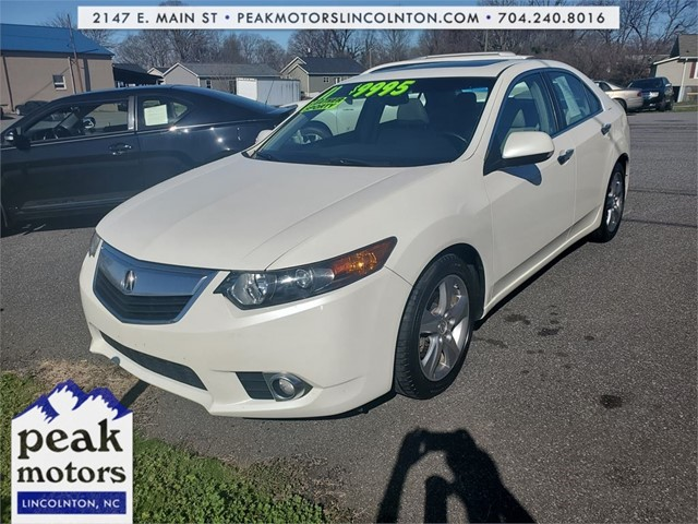 Acura TSX with Tech Package in Lincolnton