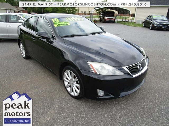 Lexus IS 250 AWD 6-Speed Sequential in Lincolnton