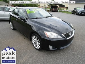 2010 Lexus IS 250 AWD 6-Speed Sequential for sale by dealer