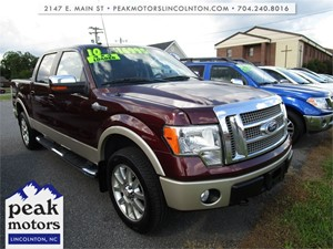 2010 Ford F-150 King Ranch SuperCrew 4WD for sale by dealer