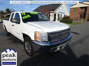 2012 Chevrolet Silverado 1500 LT Ext. Cab Long Box 4WD for sale by dealer