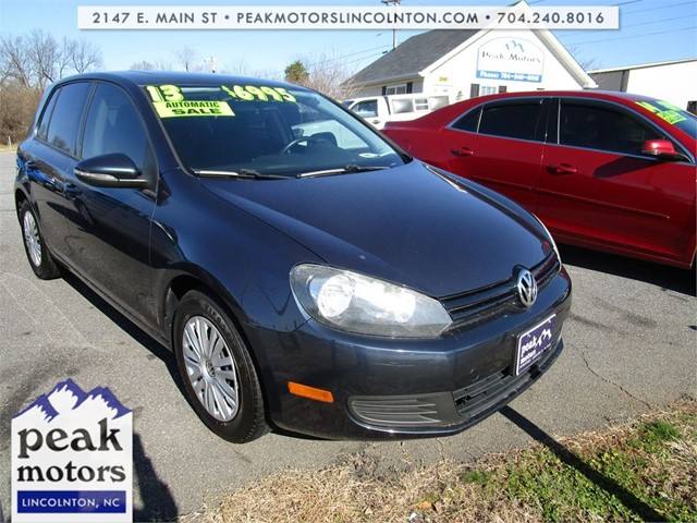 Volkswagen Golf 2.5L Sunroof 4 Door PZEV in Lincolnton