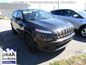 Picture of a 2014 Jeep Cherokee Sport 4WD